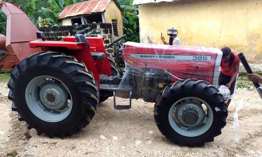 massey ferguson 385 tractors zambia